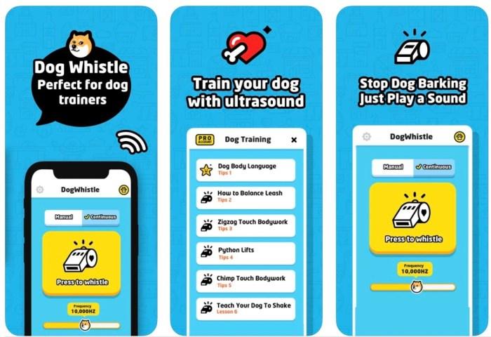 Dog Whistle Handy to Train Dog