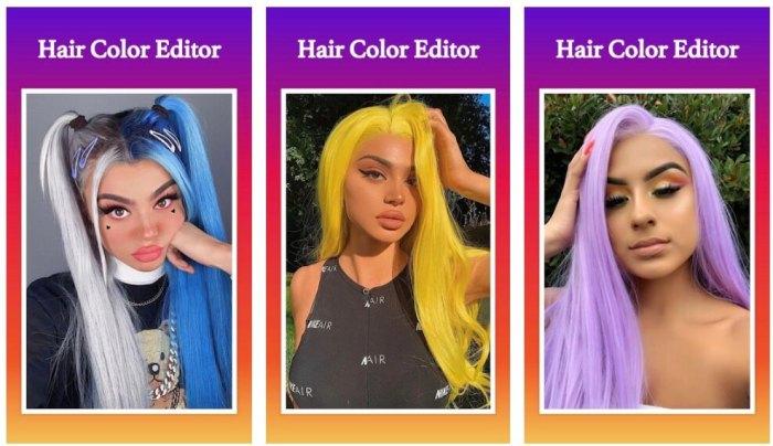 Hair Color Editor