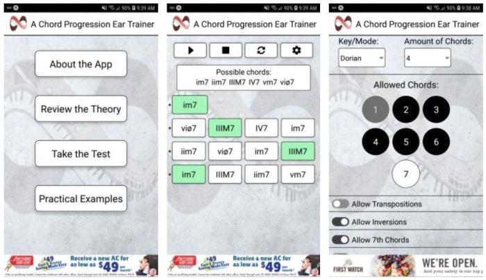 Progression Ear Trainer