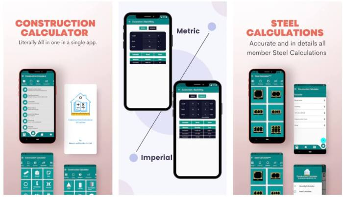 Construction Calculator All in One