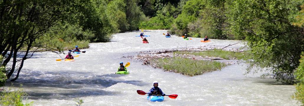 Regents Canoe Club in Alps 2013, image by Marc Labuhn