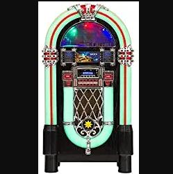 Jukebox Golden Age vintage avec fonction bluetooth par Lacoon