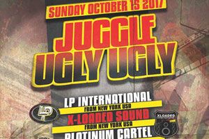 Juggle Ugly – Sunday October 15th inside Topaz Event Center