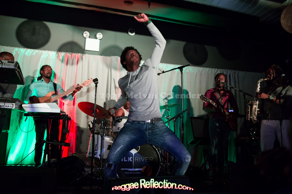 Photos Romain Virgo at Milk River Brooklyn 10/17/15 #Lifted