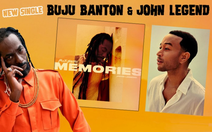 Buju Banton & John Legend Team Up for Memories