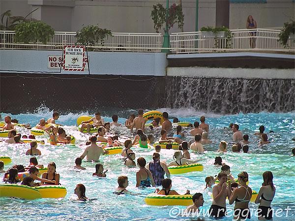 Swimming Pool In West Edmonton Mall Alberta Canada
