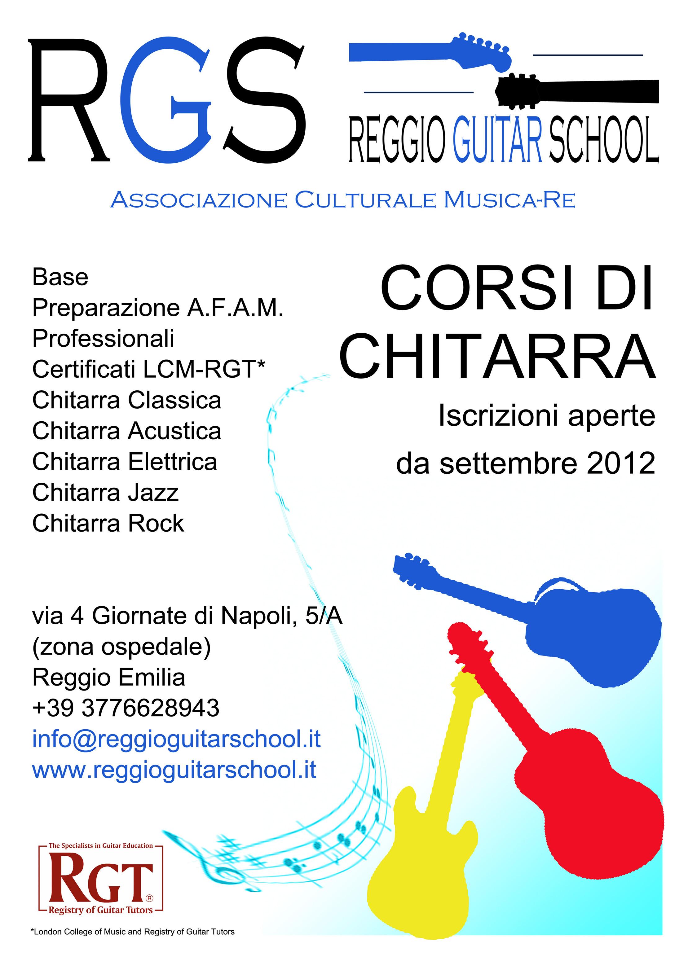 manifesto RGS 2012-13