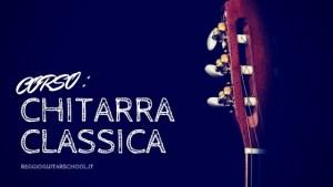Cover corso di chitarra classica