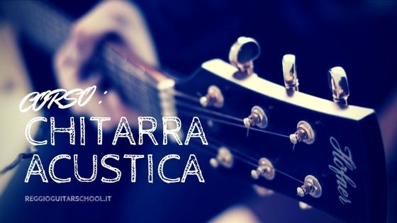 Cover Corso di chitarra acustica RGS