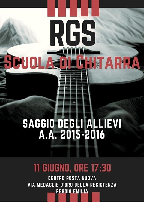 Saggio di Chitarra Reggio Emilia