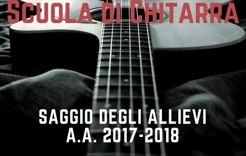 Saggio di chitarra a.a. 2017-18 Reggio Emilia