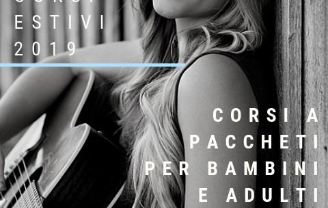 Lezioni e corsi estivi di chitarra a Reggio Emilia 2019