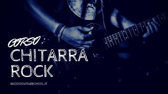 corso chitarra rock - cover