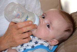 Allaitement d'un nourrisson
