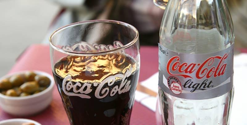 Coca-Cola Light à éviter pour perdre du poids en bonne santé