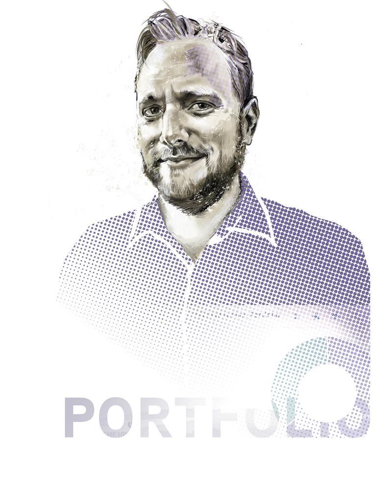 Portrait von Michael Borter, CEO Cashare