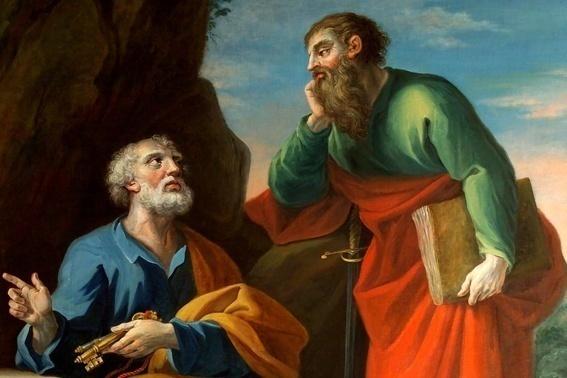cattedra di San Pietro e Paolo