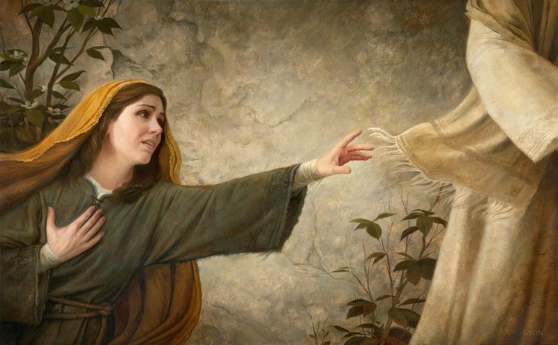 toccare le vesti di Gesù