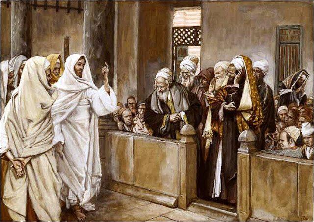 Gesù proclama di essere il figlio di Dio