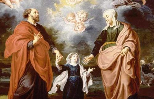 preghiera a sant'Anna e san Gioacchino per il dono di un figlio