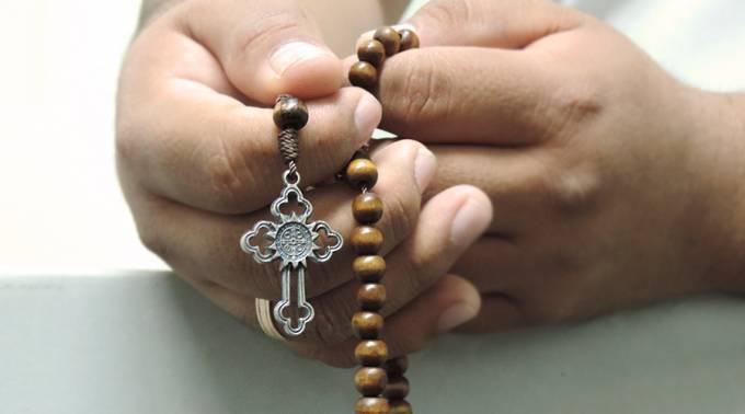 recitando il rosario