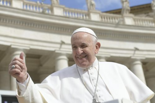 la salvezza non si compra dice Papa Francesco