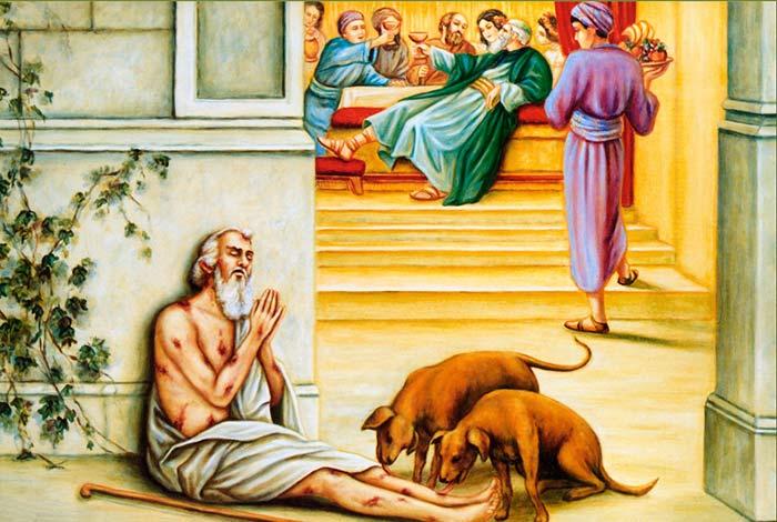 la ricchezza uccide l'anima mentre la povertà la preserva