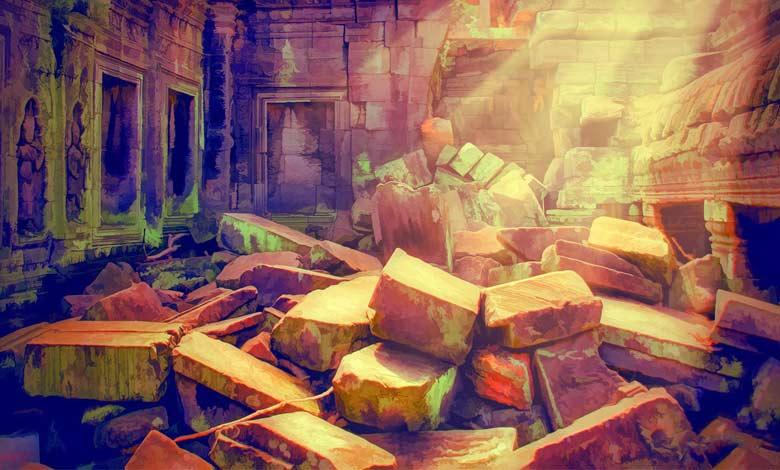 la perseveranza salverà la nostra anima perchè di questo tempio non rimarrà che pietra su pietra