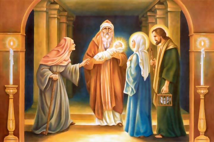 La presentazione di Gesù al tempio