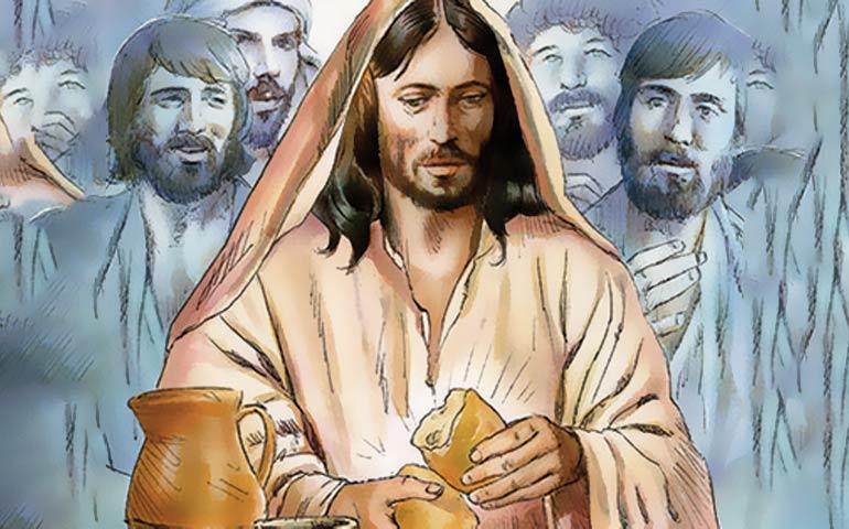 Decimo sabato alla Regina del Santo Rosario: istituzione dell'eucaristia