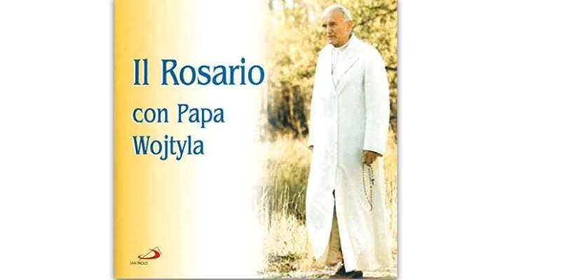 il rosario con Papa Wojtyla