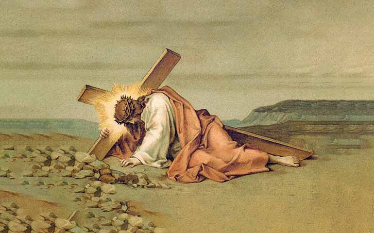 Santo Rosario schema biblico misteri del dolore