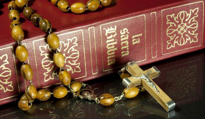 Santo Rosario schema Biblico misteri gloriosi