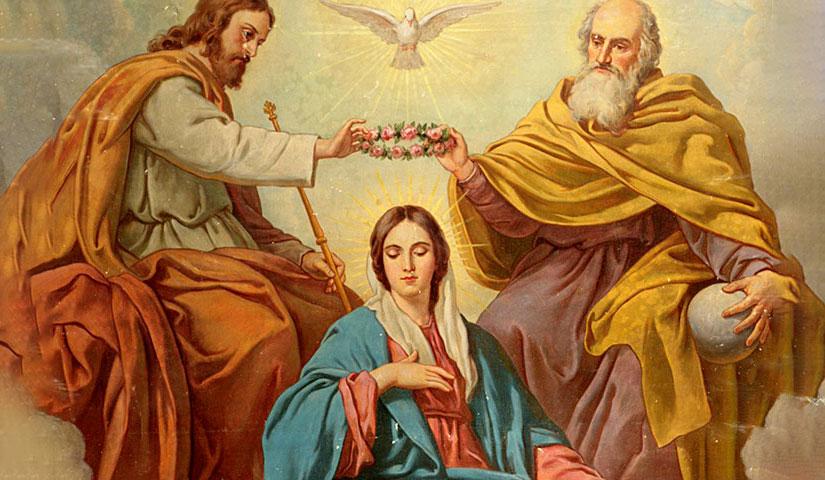 Maria è incoronata Regina