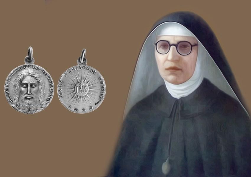 La medaglia del volto santo di Gesù