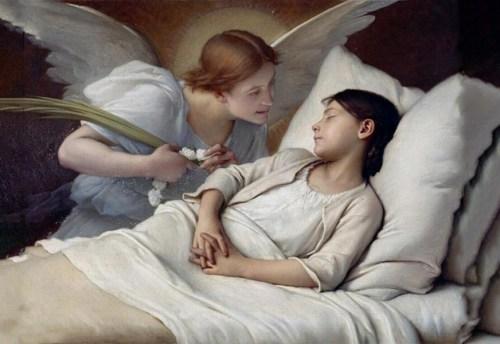Santa Gemma Galgani e gli Angeli
