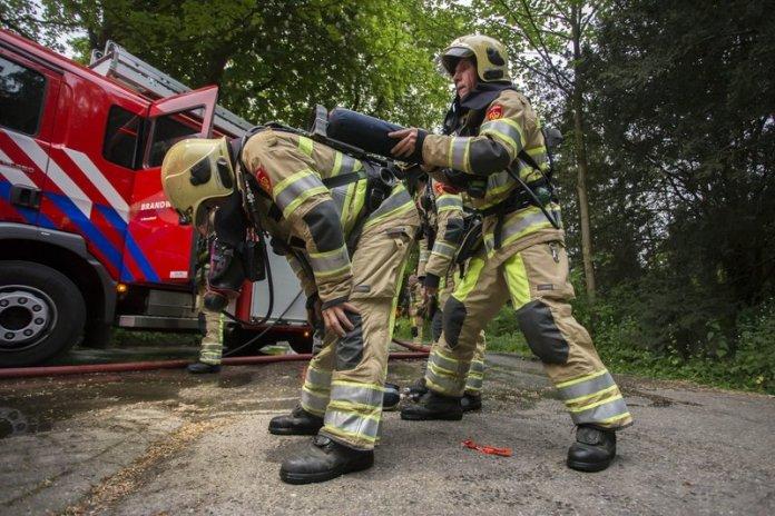 10mei2016_Brandweer oefening Vreelandseweg Hilversum_6547
