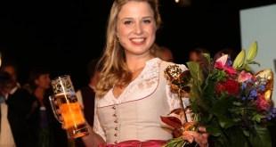 Bayerische Bierkönigin 2016 Sabine-Anna Ullrich