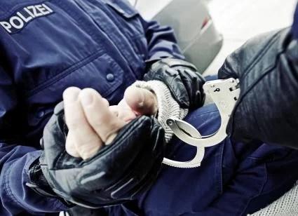 Festnahme Bundespolizei