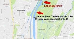 Grafik Isar Schlauchbootfahren Quelle Berufsfeuerwehr München