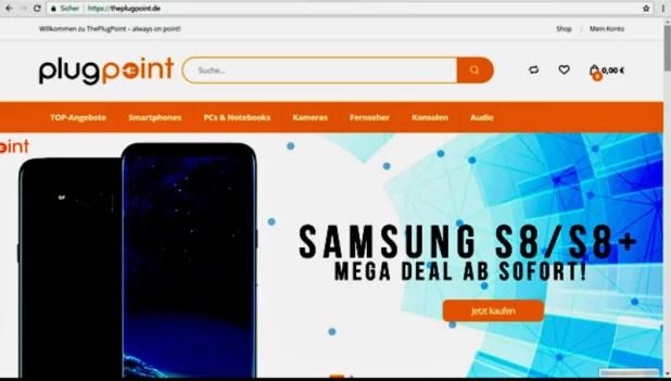 Online-Käufer fällt nicht auf Fakeshop herein Quelle Foto Kripo Ingolstadt