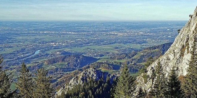 Landkreis Rosenheim mit Stadt Rosenheim