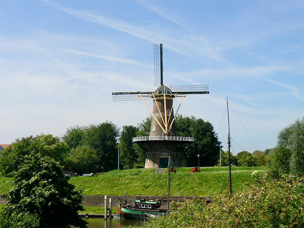 Molen Nooit Volmaakt in Gorinchem Regionaal Uitgelicht