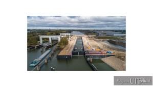 Opening van de 3e kolk Beatrixsluis door prinses Beatrix op 6 februari @ Nieuwegein | Nieuwegein | Utrecht | Nederland