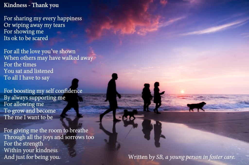 Poem by a foster child