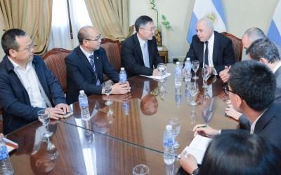 Consejero Económico y Comercial de China visitó la Gobernación de San Juan