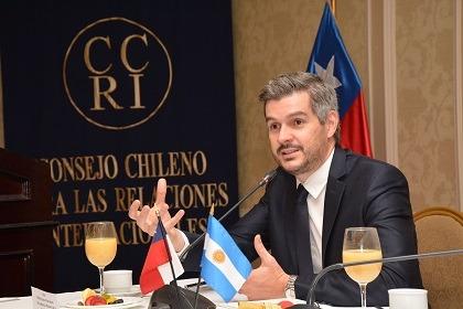 El Jefe de Gabinete de Argentina destacó el nuevo acuerdo comercial con Chile