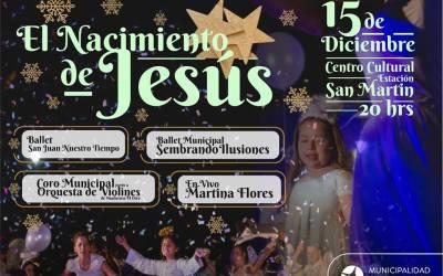 """La Capital de San Juan celebra """"El Nacimiento de Jesús"""" con una obra musical"""