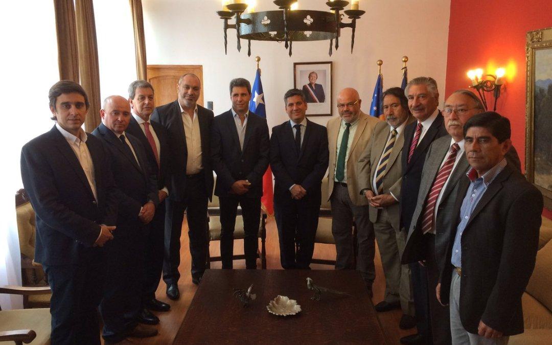 La delegación de San Juan fue recibida por el Gobierno regional de Coquimbo