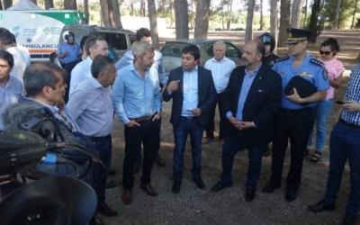 """Rogelio Frigerio: """"estamos trabajando para agilizar los pasos fronterizos"""""""